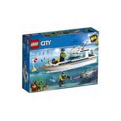 LEGO Diving Yacht-60221  ΠΑΙΧΝΙΔΙΑ alfavitari.com